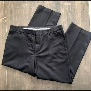 Perry Ellis Portfolio Men's Grey Dress Pants